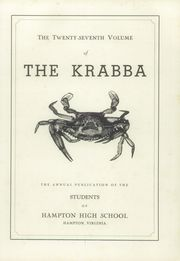 Page 5, 1949 Edition, Hampton High School - Krabba Yearbook (Hampton, VA) online yearbook collection