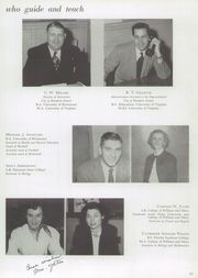 Page 15, 1954 Edition, Hampton High School - Krabba Yearbook (Hampton, VA) online yearbook collection