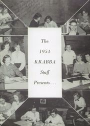 Page 5, 1954 Edition, Hampton High School - Krabba Yearbook (Hampton, VA) online yearbook collection