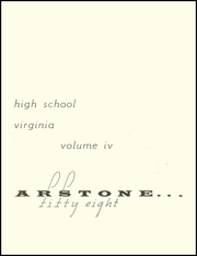 Page 5, 1958 Edition, Wakefield High School - Starstone Yearbook (Arlington, VA) online yearbook collection