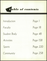 Page 9, 1958 Edition, Wakefield High School - Starstone Yearbook (Arlington, VA) online yearbook collection