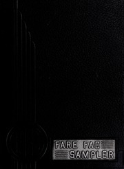 1939 Edition, Fairfax High School - Fare Fac Sampler Yearbook (Fairfax, VA)