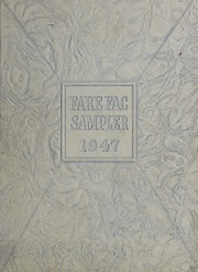 1947 Edition, Fairfax High School - Fare Fac Sampler Yearbook (Fairfax, VA)