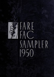 1950 Edition, Fairfax High School - Fare Fac Sampler Yearbook (Fairfax, VA)
