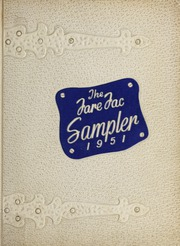 1951 Edition, Fairfax High School - Fare Fac Sampler Yearbook (Fairfax, VA)