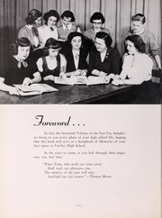 Page 10, 1951 Edition, Fairfax High School - Fare Fac Sampler Yearbook (Fairfax, VA) online yearbook collection