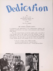 Page 12, 1951 Edition, Fairfax High School - Fare Fac Sampler Yearbook (Fairfax, VA) online yearbook collection