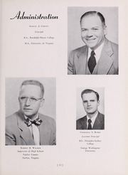 Page 17, 1951 Edition, Fairfax High School - Fare Fac Sampler Yearbook (Fairfax, VA) online yearbook collection
