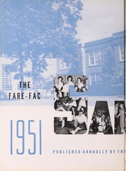 Page 6, 1951 Edition, Fairfax High School - Fare Fac Sampler Yearbook (Fairfax, VA) online yearbook collection
