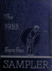 1953 Edition, Fairfax High School - Fare Fac Sampler Yearbook (Fairfax, VA)