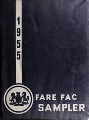 1955 Edition, Fairfax High School - Fare Fac Sampler Yearbook (Fairfax, VA)