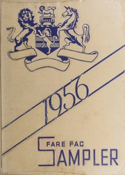 1956 Edition, Fairfax High School - Fare Fac Sampler Yearbook (Fairfax, VA)