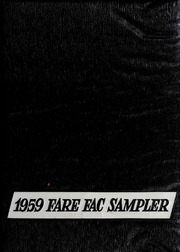 1959 Edition, Fairfax High School - Fare Fac Sampler Yearbook (Fairfax, VA)