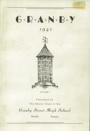 Page 5, 1941 Edition, Granby High School - Yearbook (Norfolk, VA) online yearbook collection