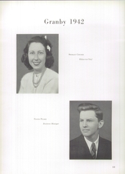 Page 14, 1942 Edition, Granby High School - Yearbook (Norfolk, VA) online yearbook collection