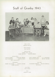 Page 15, 1943 Edition, Granby High School - Yearbook (Norfolk, VA) online yearbook collection