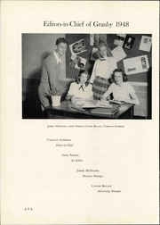 Page 12, 1948 Edition, Granby High School - Yearbook (Norfolk, VA) online yearbook collection