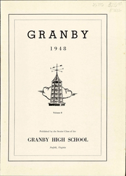 Page 5, 1948 Edition, Granby High School - Yearbook (Norfolk, VA) online yearbook collection