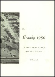Page 5, 1950 Edition, Granby High School - Yearbook (Norfolk, VA) online yearbook collection