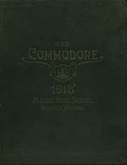 Page 1, 1918 Edition, Maury High School - Commodore Yearbook (Norfolk, VA) online yearbook collection