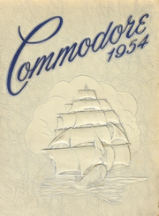 1954 Edition, Maury High School - Commodore Yearbook (Norfolk, VA)