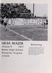 Page 5, 1977 Edition, Bethel High School - Ursa Major Yearbook (Hampton, VA) online yearbook collection