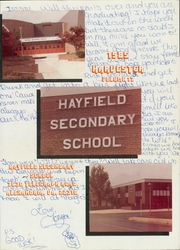 Page 5, 1985 Edition, Hayfield Secondary School - Harvester Yearbook (Alexandria, VA) online yearbook collection