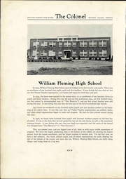 Page 14, 1938 Edition, William Fleming High School - Colonel Yearbook (Roanoke, VA) online yearbook collection