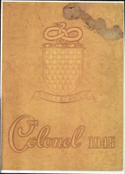 Page 1, 1945 Edition, William Fleming High School - Colonel Yearbook (Roanoke, VA) online yearbook collection