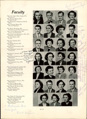 Page 13, 1950 Edition, William Fleming High School - Colonel Yearbook (Roanoke, VA) online yearbook collection