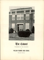 Page 7, 1950 Edition, William Fleming High School - Colonel Yearbook (Roanoke, VA) online yearbook collection