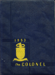 Page 1, 1953 Edition, William Fleming High School - Colonel Yearbook (Roanoke, VA) online yearbook collection