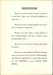 Page 16, 1957 Edition, William Fleming High School - Colonel Yearbook (Roanoke, VA) online yearbook collection