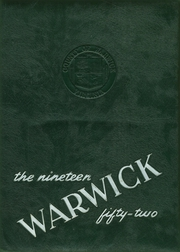 1952 Edition, Warwick High School - Yearbook (Newport News, VA)