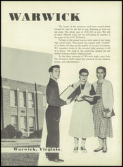 Page 7, 1953 Edition, Warwick High School - Yearbook (Newport News, VA) online yearbook collection