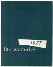 1957 Edition, Warwick High School - Yearbook (Newport News, VA)