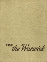 1958 Edition, Warwick High School - Yearbook (Newport News, VA)