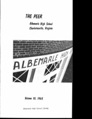 Page 3, 1963 Edition, Albemarle High School - Peer Yearbook (Charlottesville, VA) online yearbook collection