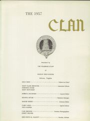 Page 5, 1957 Edition, McLean High School - Clan Yearbook (McLean, VA) online yearbook collection