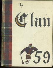 Page 1, 1959 Edition, McLean High School - Clan Yearbook (McLean, VA) online yearbook collection
