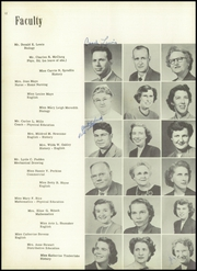 Page 16, 1953 Edition, Woodrow Wilson High School - President Yearbook (Portsmouth, VA) online yearbook collection
