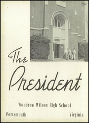 Page 6, 1953 Edition, Woodrow Wilson High School - President Yearbook (Portsmouth, VA) online yearbook collection