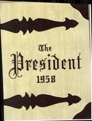 Page 1, 1958 Edition, Woodrow Wilson High School - President Yearbook (Portsmouth, VA) online yearbook collection