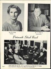 Page 10, 1958 Edition, Woodrow Wilson High School - President Yearbook (Portsmouth, VA) online yearbook collection