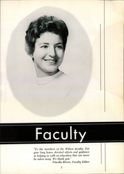 Page 11, 1961 Edition, Woodrow Wilson High School - President Yearbook (Portsmouth, VA) online yearbook collection