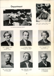 Page 15, 1961 Edition, Woodrow Wilson High School - President Yearbook (Portsmouth, VA) online yearbook collection