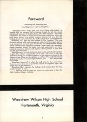 Page 7, 1961 Edition, Woodrow Wilson High School - President Yearbook (Portsmouth, VA) online yearbook collection