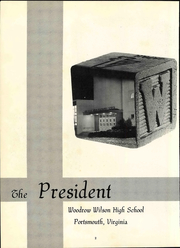 Page 8, 1965 Edition, Woodrow Wilson High School - President Yearbook (Portsmouth, VA) online yearbook collection