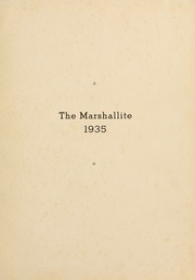 Page 7, 1935 Edition, John Marshall High School - Marshallite Yearbook (Richmond, VA) online yearbook collection