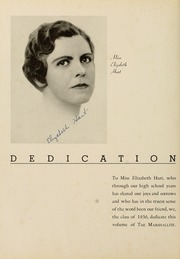 Page 10, 1936 Edition, John Marshall High School - Marshallite Yearbook (Richmond, VA) online yearbook collection